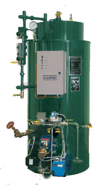 COLUMBIA BOILER SYSTEMS HOT WATER/ STEAM/ FEEDWATER SYSTEMS ...